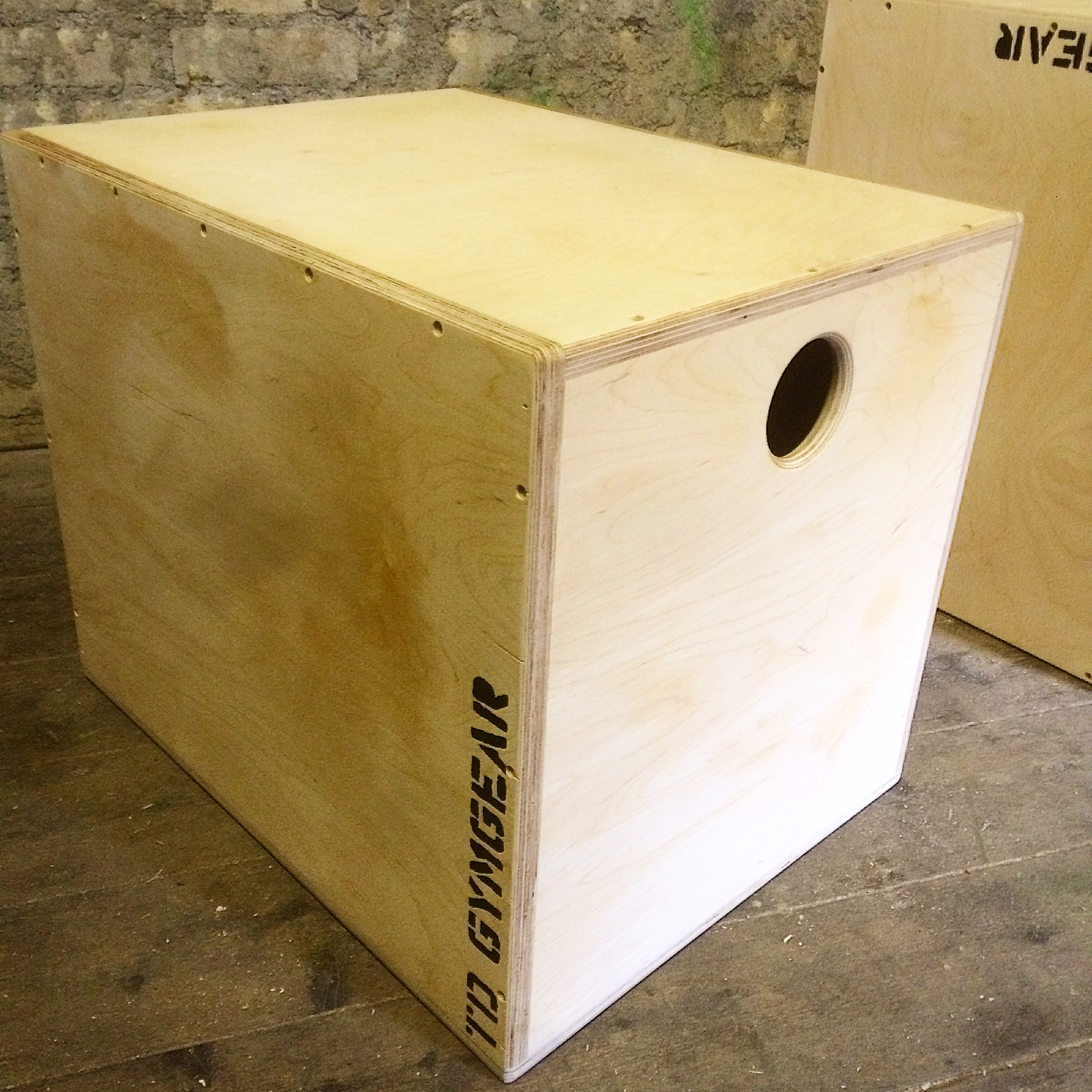 "Crossfit games style Plyo box 30""x24"",20"""